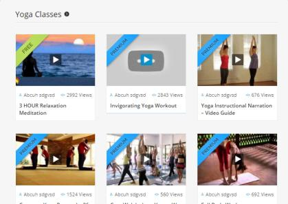 VideoMember - Video Template