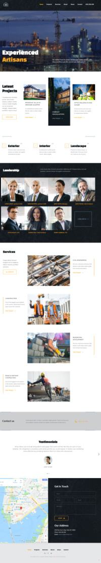 Base Ground ThemeFuse : Contractor / Construction Builder Theme