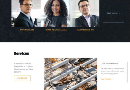 Base Ground Homepage Service