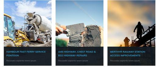 Base Ground Portfolio Project List