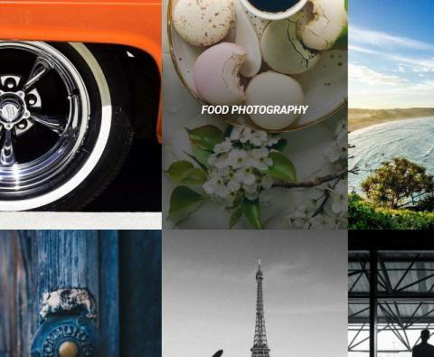 Coastline Homepage - Portfolio Columns