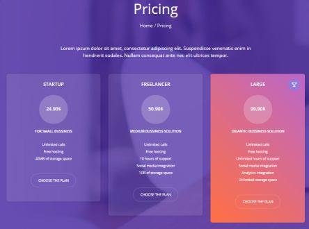 Daylight Pricing Page