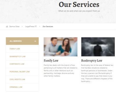 LegalPress - Law Service Page