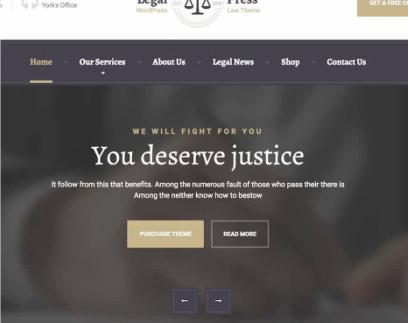 LegalPress Slider