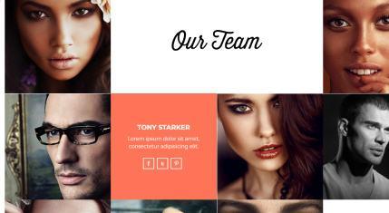 Shape Team Members Page
