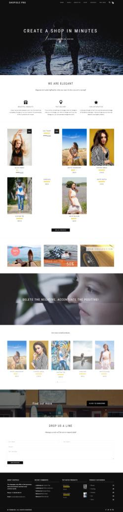 ShopIsle Pro Demo : ThemeIsle Best Ecommerce WordPress Theme