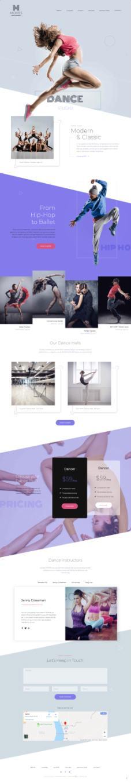 Moves Demo ThemeFuse – Dance WordPress Theme for Dance Studios