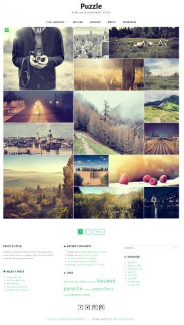 Puzzle ThemeIsle - Portfolio WordPress Theme