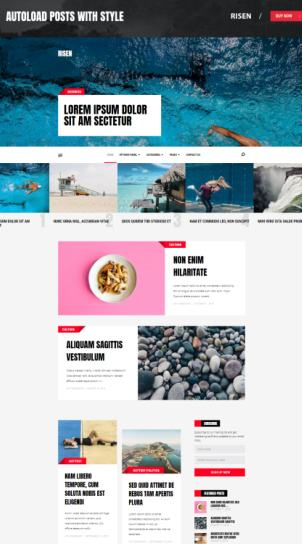 Risen Mythemeshop - SEO Friendly Blogging Theme