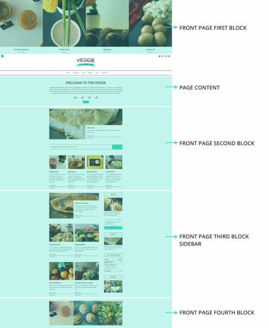 Veggie Homepage Featured Widgets