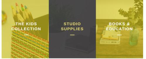 Capri Pro ThemeIsle - Categories Section