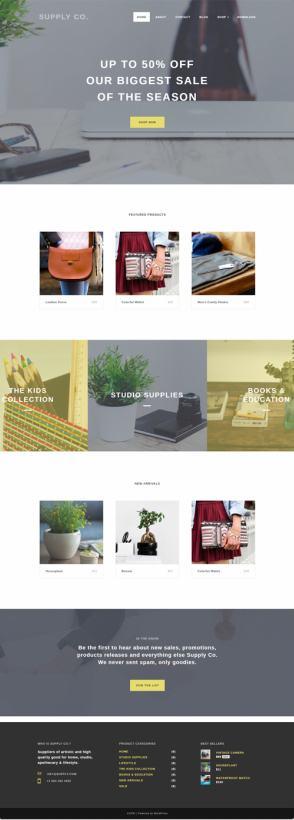 Capri Pro Demo ThemeIsle – Minimalist eCommerce Store Theme