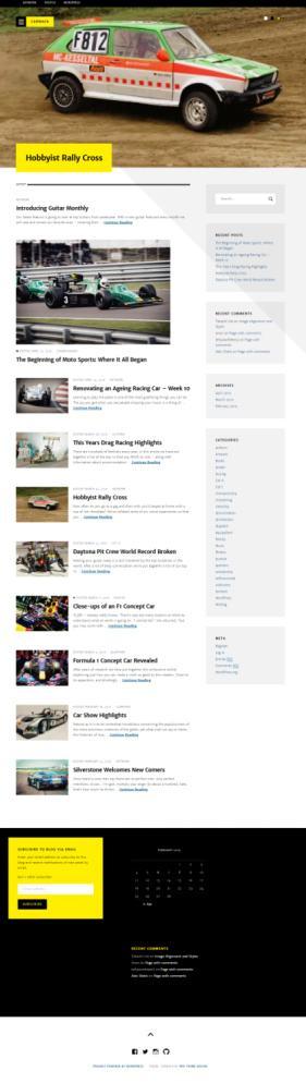Carmack ThemeIsle : Adsense Blog / Magazine Theme For WordPress