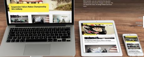 Carmack Responsive WordPress Blogging Theme