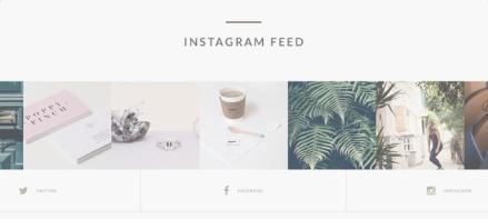 Epilog Instagram Feed