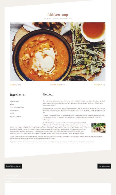 Oblique Pro Single Recipe Blog Post