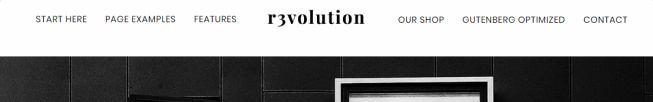 Revolution Pro Header