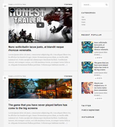 Rhino Blog Listing Page