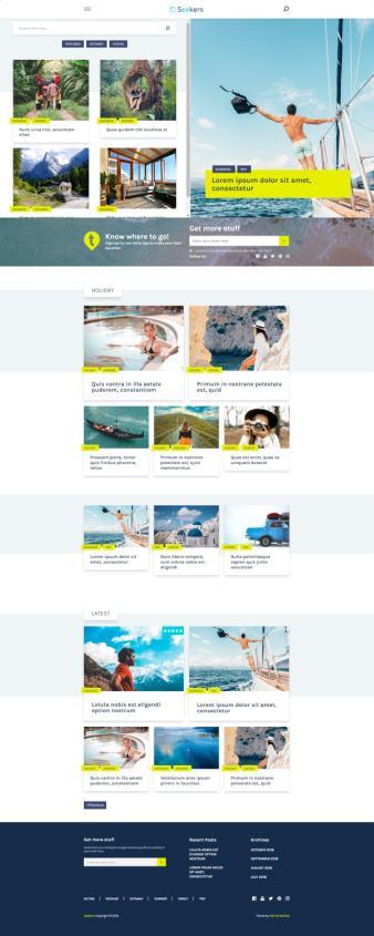Seekers Premium WordPress Blog Theme : MyThemeShop