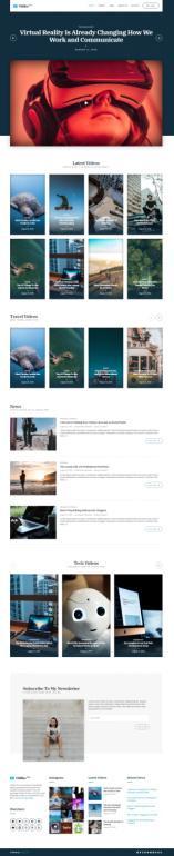 Vidiho Pro CSSIgniter : Responsive Video Blogging Theme
