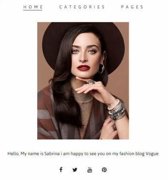 Vogue Site Intro