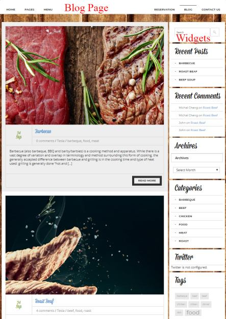 Downtown Blog for Food Recipes