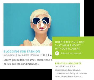 Extra Elegant Post Formats for Blogging