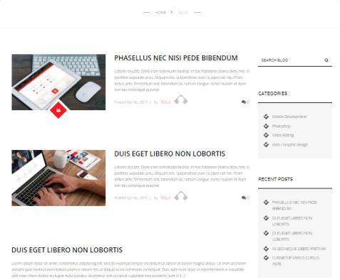 Unik Blog for Business Websites