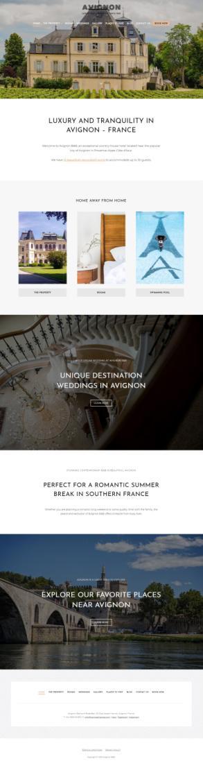 Avignon HermesThemes – Premium Hotel WordPress Theme