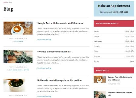 Blog Page Layout - WPZOOM