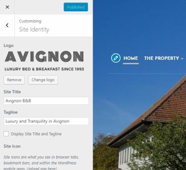 Customization Options - Avignon