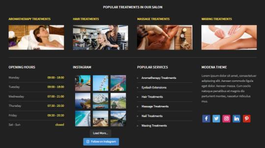 Featured Widgets - Footer