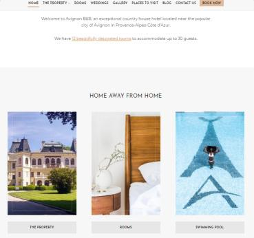 Frontpage Widgets - Avignon