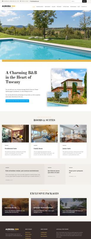 HermesThemes Aurora Demo – Best Luxury Hotel WordPress Theme