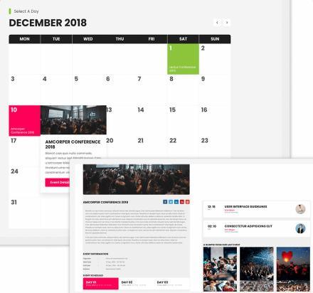 Event Calendar Preview