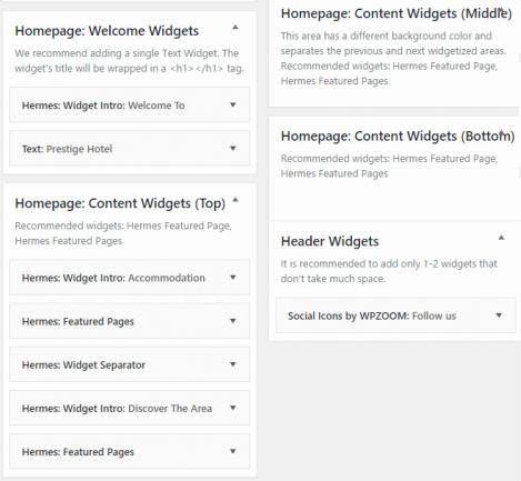 Home Widgets - Prestige