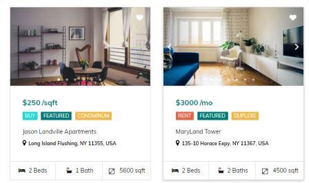 Listing Style - Estate Themeum