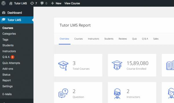 Tutor LMS Plugin For eLearning Online Course