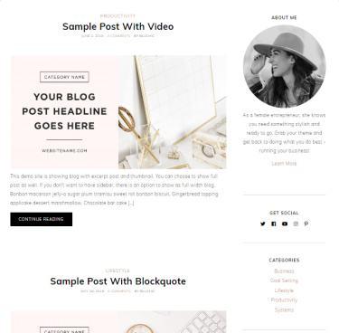 Blog - ChicShop Theme