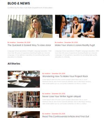 Blog Page - Themeum Online Course Template