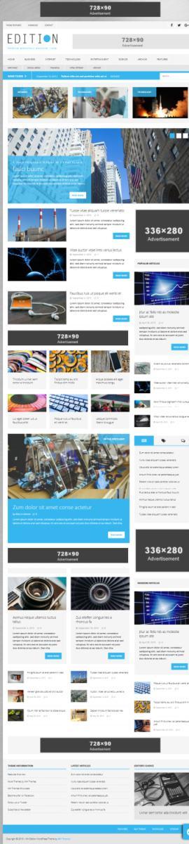 MH Edition – MH Themes : Unique Magazine WordPress Theme