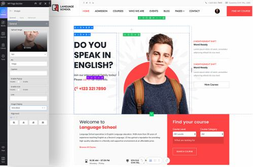 Real Time Page Building - Themeum WP Page Builder