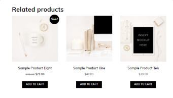 Related Products - ChicShop