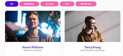 Speakers Post Type - CSSIgniter Events Theme