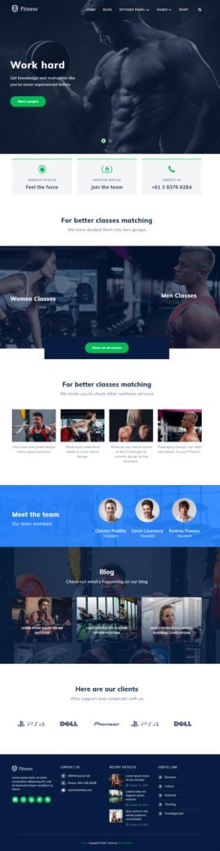 Fitness Demo - MyThemeShop Review
