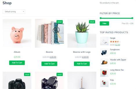 Online Shop - MyThemeShop Gym Website Design