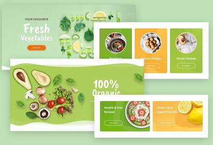 7 Ready Home Sections - Mythemeshop Food Blog Theme