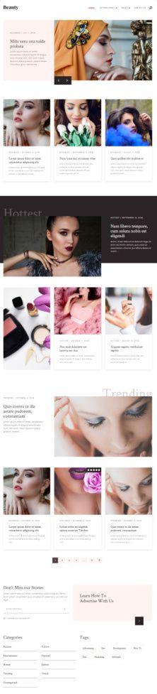 Beauty Mythemeshop -Best Fashion Blog WordPress Theme