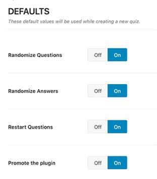 Best Options - WP Quiz Plugin