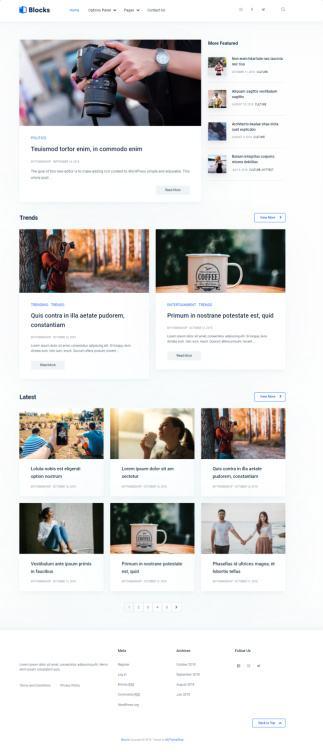 Mythemeshop Blocks : WordPress Blog Theme for Page Builders